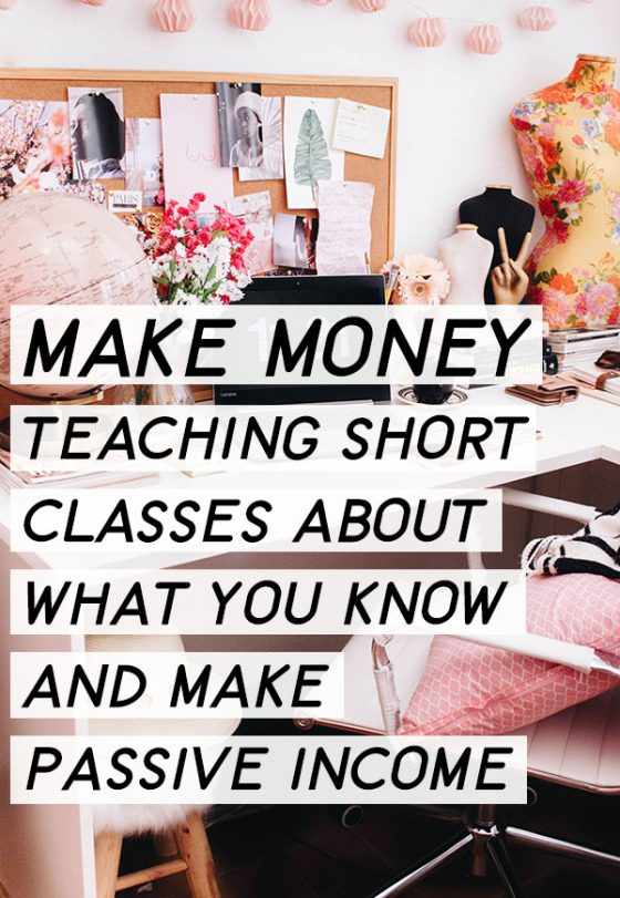 Have you ever thought about ways to Make Money Teaching Online on Skillshare? I started with one class and after getting that initial paycheck, I was hooked! Why? Because it was so... s i m p l e. Learn how!